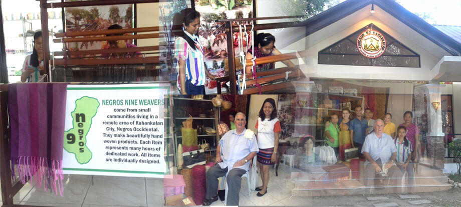 Negros Nine Weavers Exhibit @ Panaad